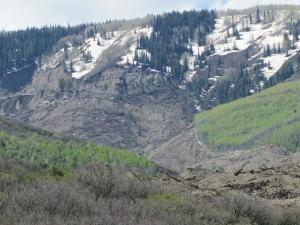 West Slope mudslide