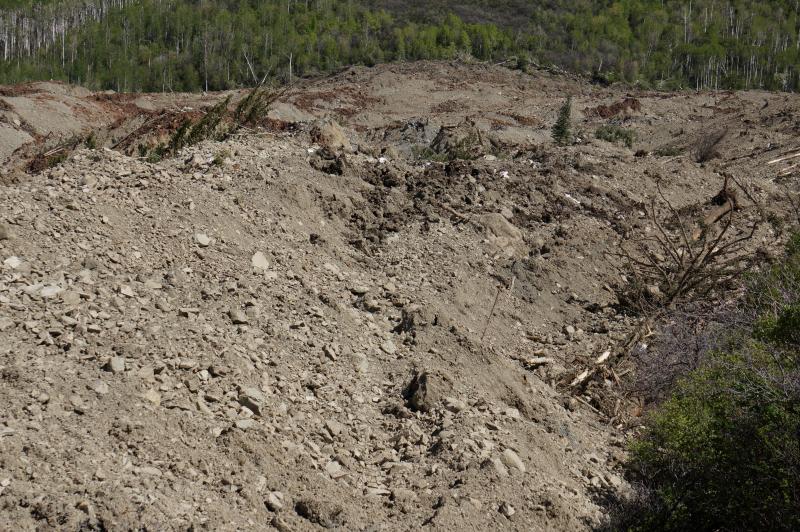 Debris field.