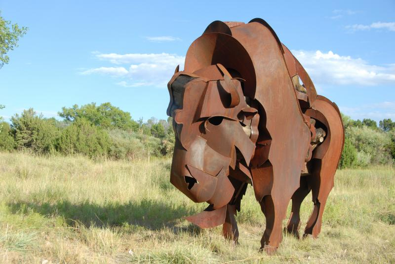 """Ernesto"" by Santa Fe artist James Burnes"