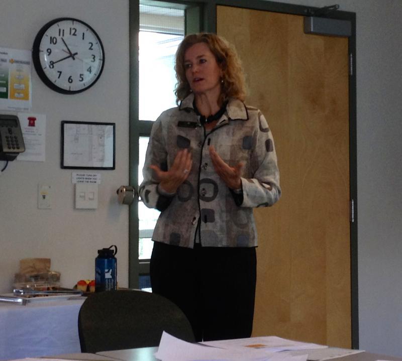 Colorado Mountain College President Carrie Hauser.