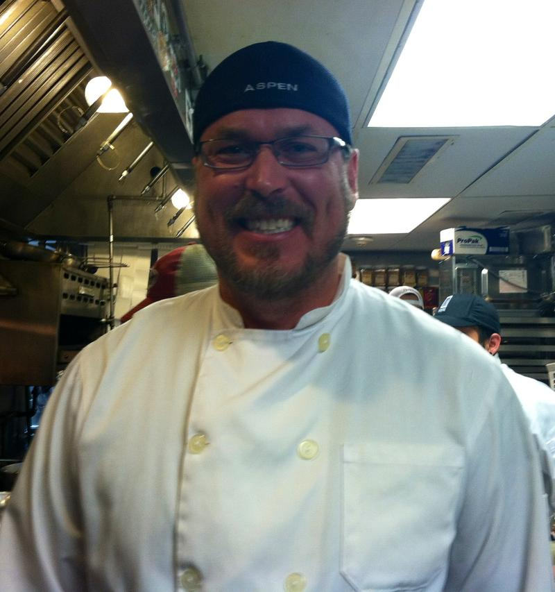 Chris Lanter is the Executive Chef at Cache Cache.