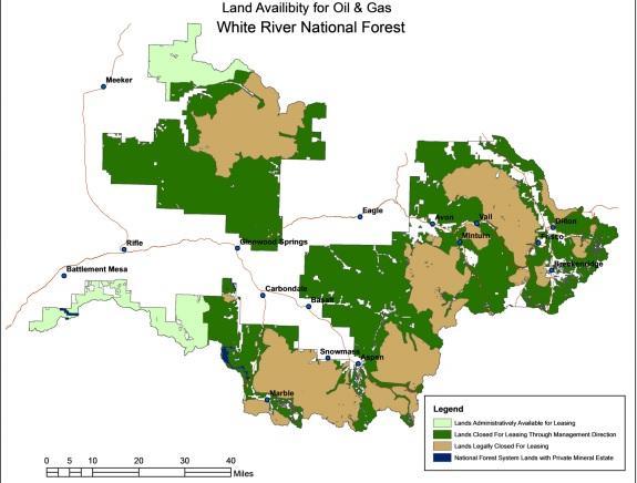 Conservation Groups Cheer White River N.F. Oil, Gas Plan | Aspen ...