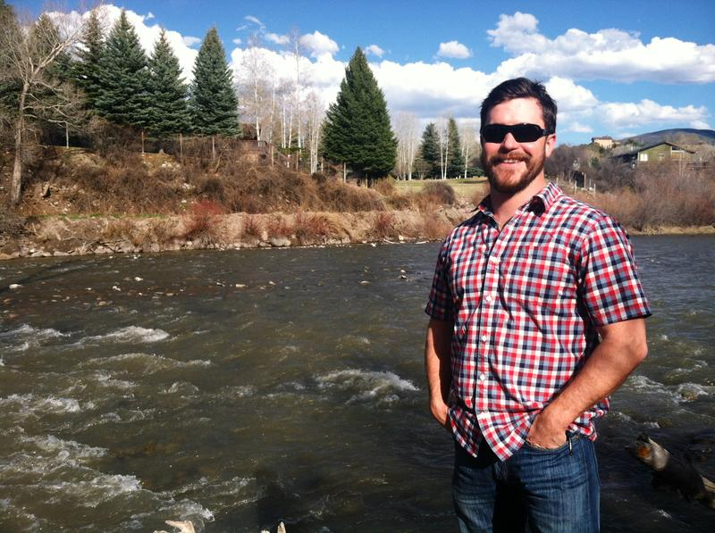 Connor Coleman is Stewardship Director for Aspen Valley Land Trust. He's working on the Crystal River Restoration plan.