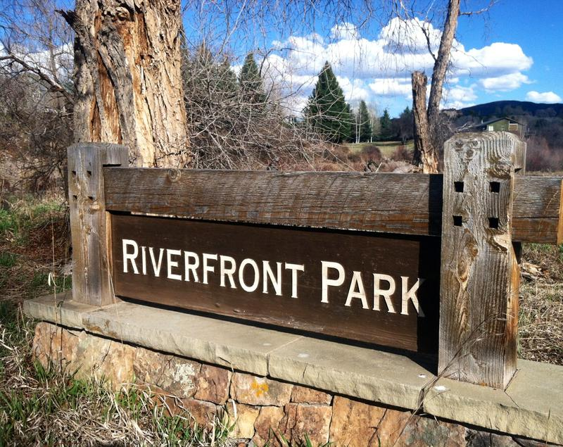 Riverfront Park near River Valley Ranch is one of Carbondale's underutilized parks. The river restoration plan includes upgrades to this park and others.