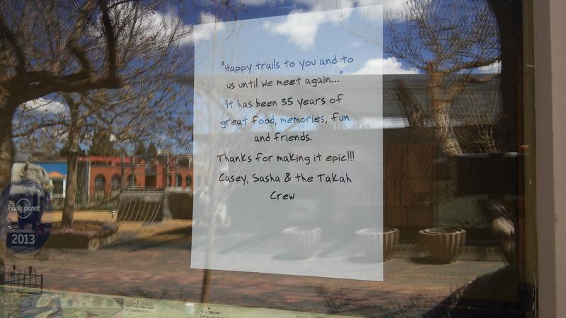 The Sign in the Window.