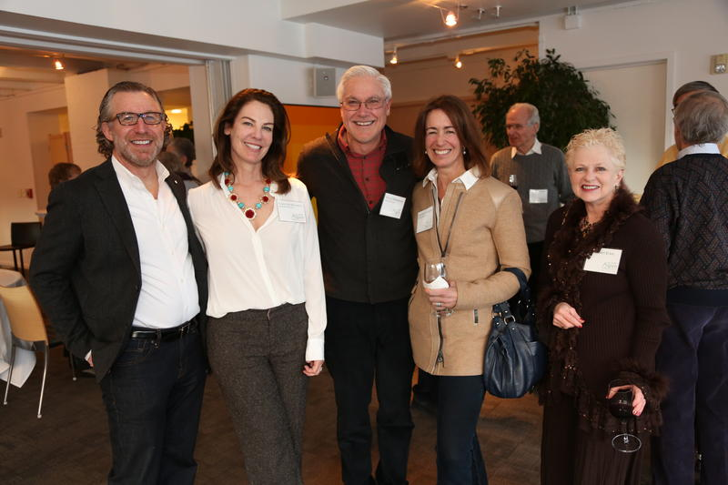 The January 2014 National Council event featured Dr. Robert Eckle of the University of Colorado Medical School.