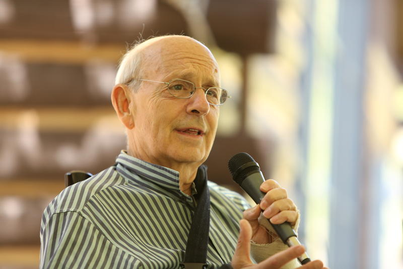 Justice Stephen Breyer speaks to APR's National Council in June 2013.