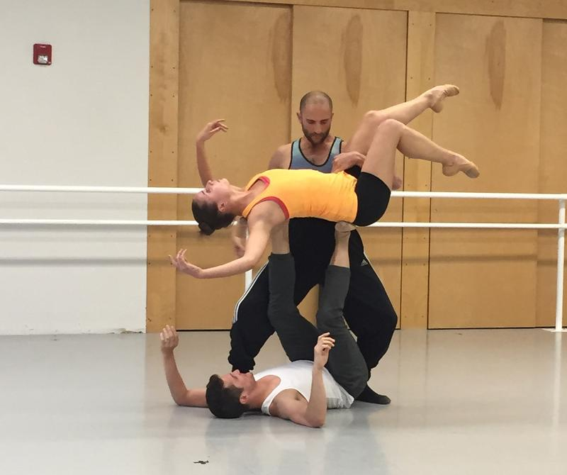Members of the Aspen Santa Fe Ballet rehearse for the summer season.
