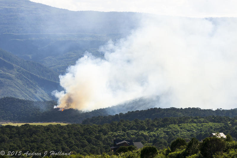 A 7-acre wildfire near Glenwood Springs that started Friday was contained by Sunday.