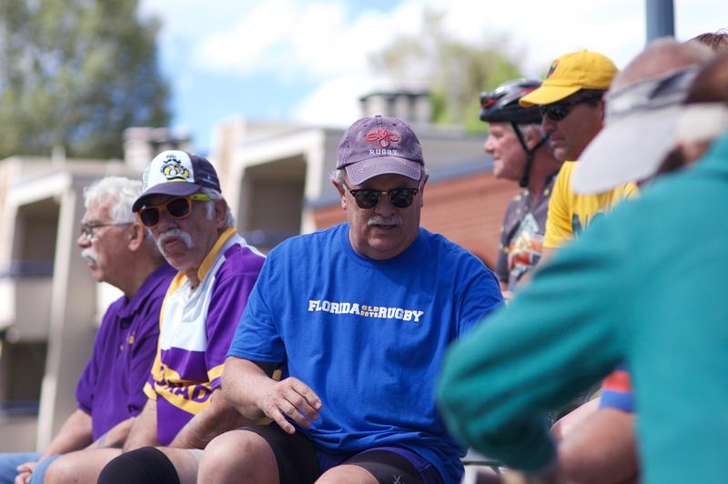 Roy Brewer, of the Florida Old Boys, is playing in Ruggerfest. His team has been coming for about thirty years. He has raised two sons that now play Rugby.