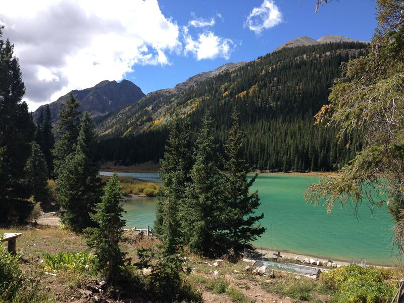 Grizzly Reservoir stores water from the Roaring Fork basin before it is diverted through a tunnel to Twin Lakes.