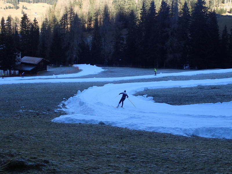 A lack of snow in Europe has created a new job: snow farming.