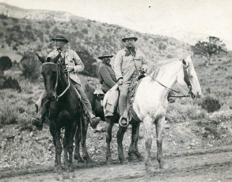 Teddy Roosevelt hunting in Garfield County in 1905.