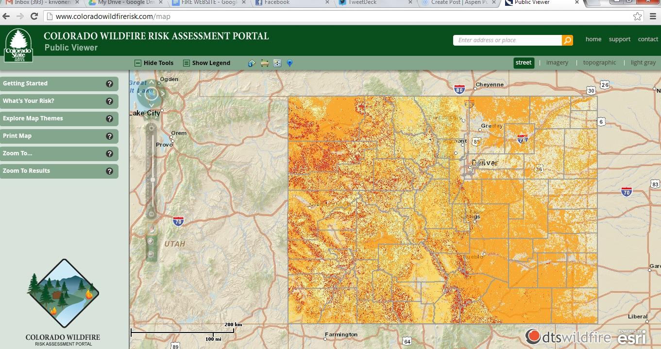 Tracking Wildfire Risk In Your Backyard Aspen Public Radio
