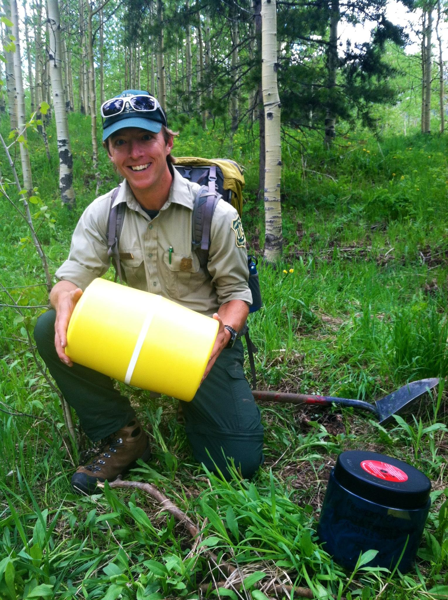 Forest Service mandates bear-resistant containers in Maroon Bells Snowmass Wilderness  sc 1 st  Aspen Public Radio & Forest Service mandates bear-resistant containers in Maroon Bells ...