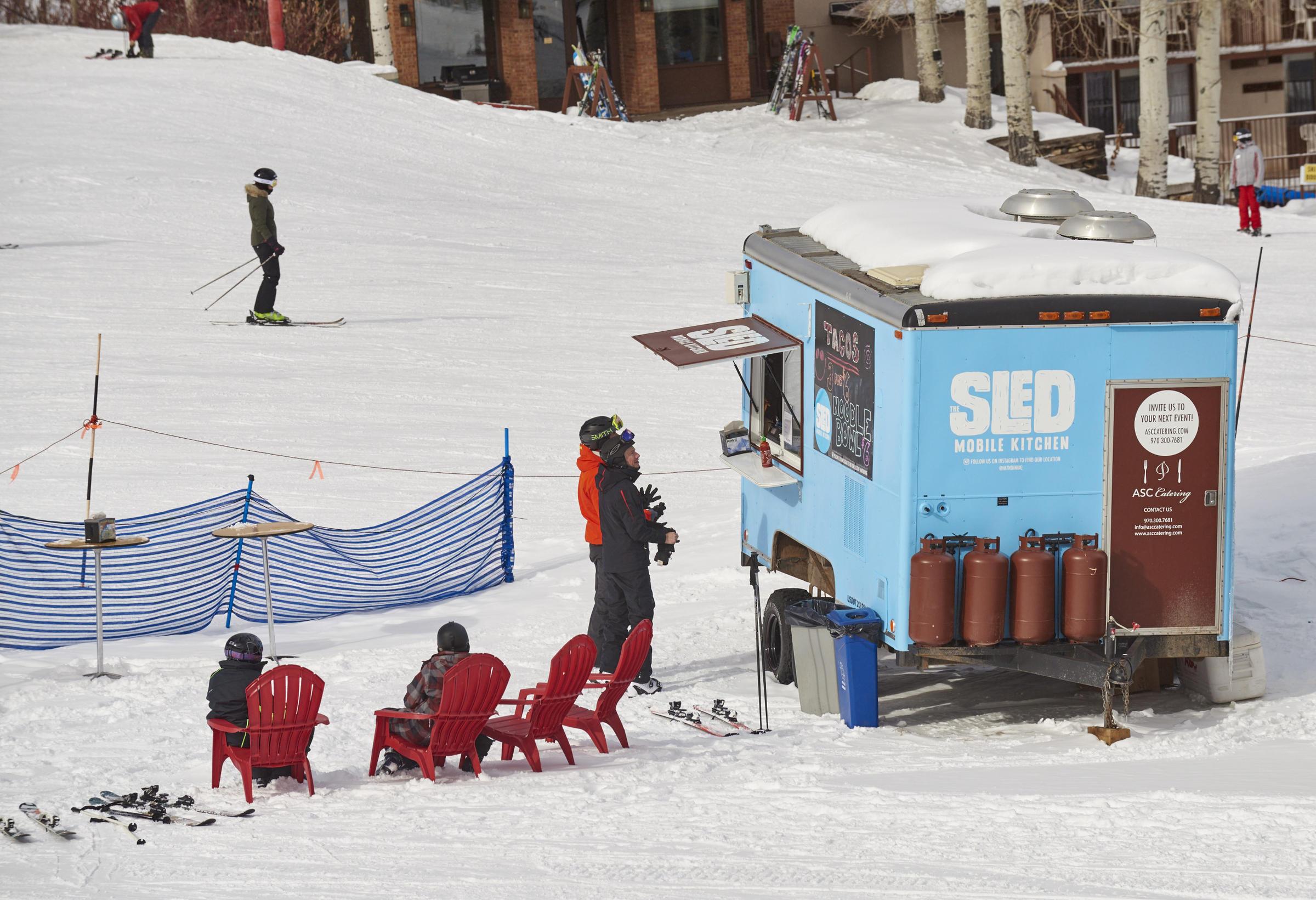 Mobile mountain food truck hits the slopes | Aspen Public Radio