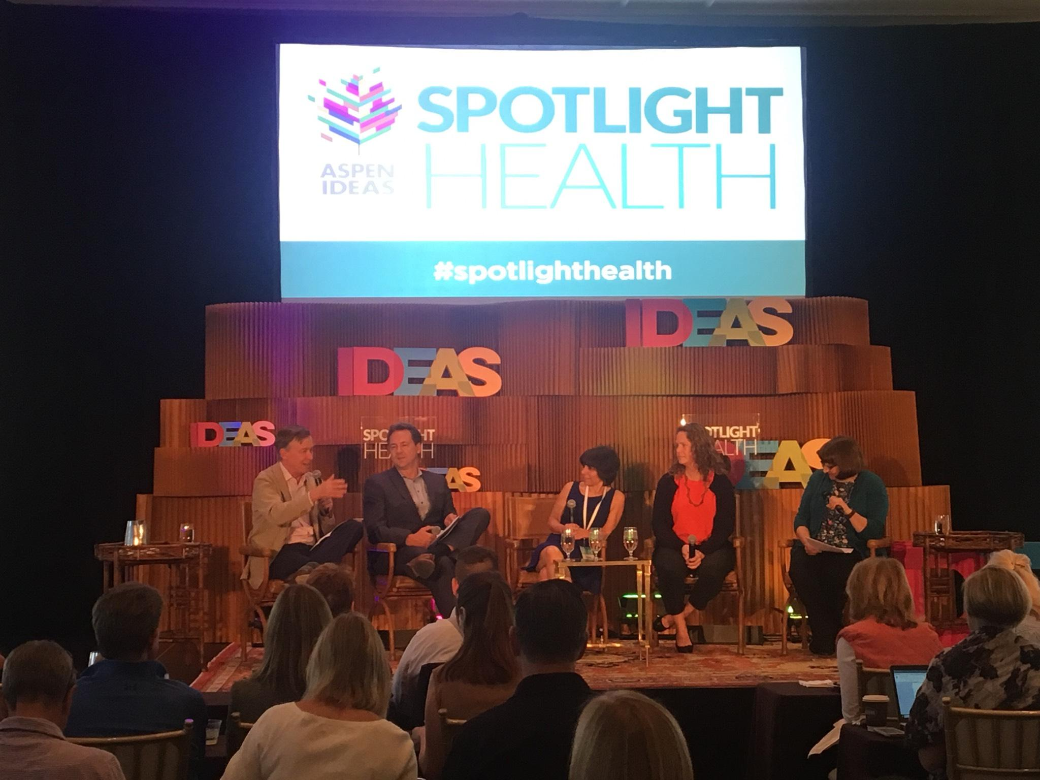 Aspen Ideas Festival 2018: The State Of The State Of Health