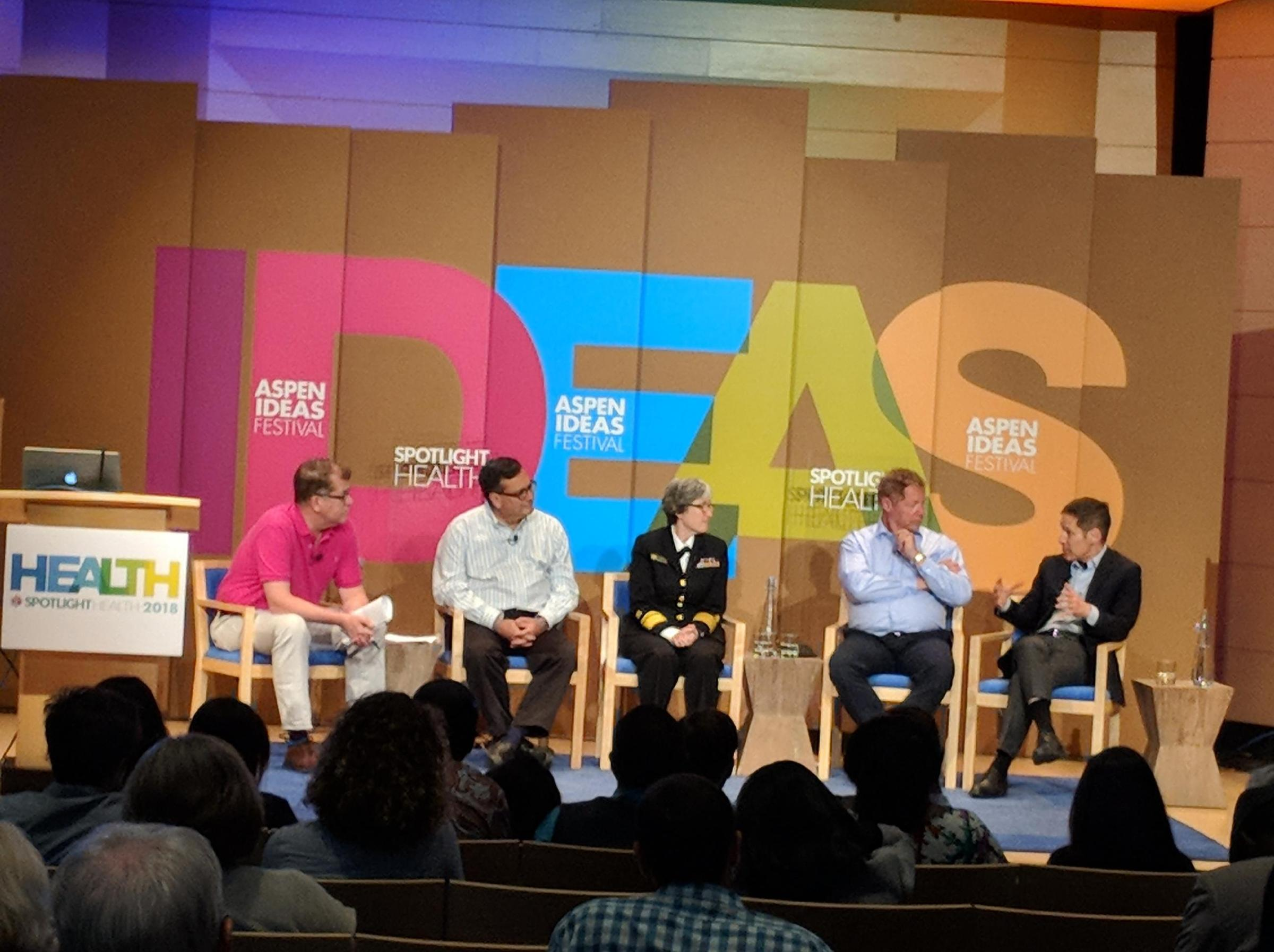 Aspen Ideas Festival 2018: Who Is Prepared For The Next Epidemic
