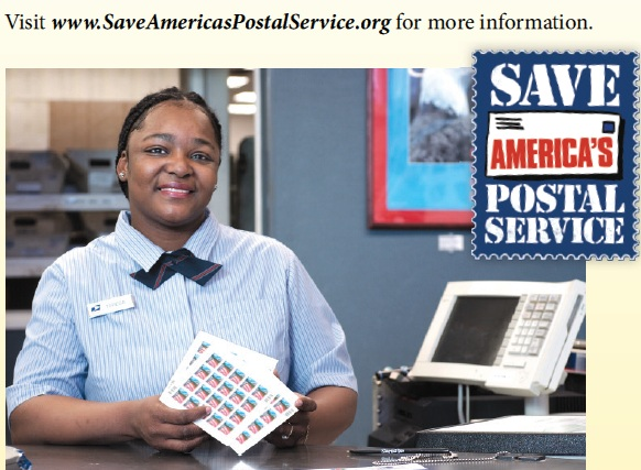 postal officr on your call what is the future of the us postal