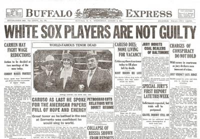 Black Sox Scandal