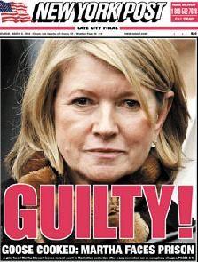Martha stewart insider trading essays