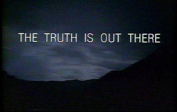 Conspiracy Theories on...X Files The Truth Is Out There Wallpaper
