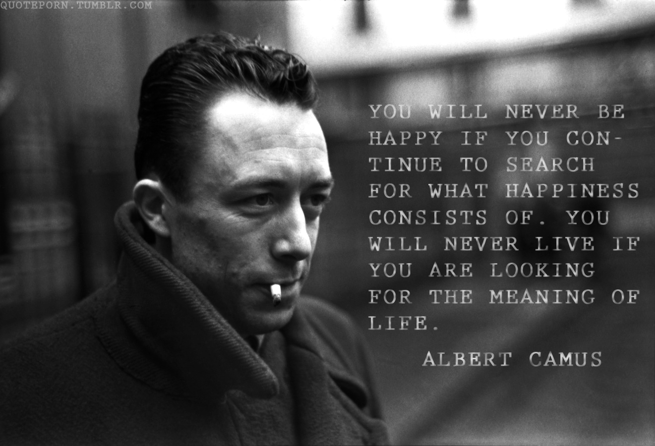 Philosophers Quotes On The Meaning Of Life Philosophy Talk Asks Is Life As Absurd As Albert Camus Thought