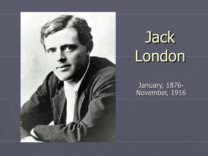 Risultati immagini per jack london