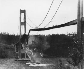 1940 - Tacoma Narrow Bridge collapses (highlighted story below)