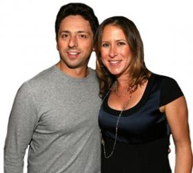 Sergey Brin and Anne Wojcicki, under 40 and the 5th largest donors in 2012.