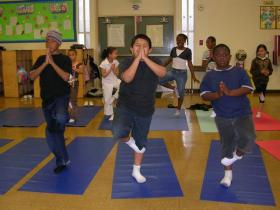 Can yoga help students better focus in the classroom?