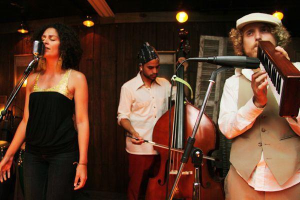 Martina Castro, Vinicio Peñate, and Izzy Weiser @ Viracocha