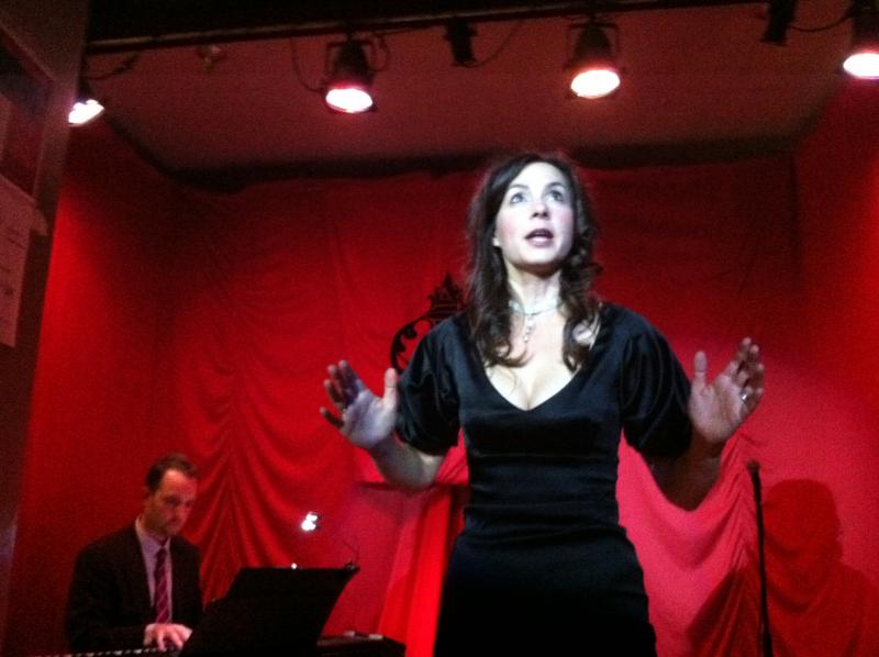 San Francisco Opera on Tap co-founder Indre Viskontas organizes the opera performances at Café Royale.