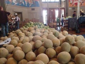 Melons at The Food Pantry