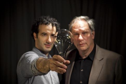 RadioLab hosts and creators, Jad Abumrad and Robert Krulwich.