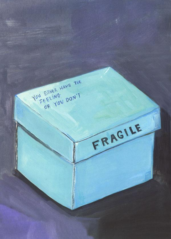 In Daniel Handler's 'Why We Broke Up' the reasons for a break up are explained through an assortment of boxed objects, illustrated by Maira Kalman