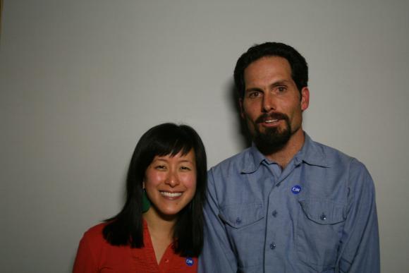 Joyce Lin-Conrad and Geoff Palla