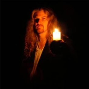 """Berkeley-based musician and instrumentalist Tim Rayborn brings the werewolf to life in """"Lycanthropos"""""""