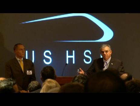 Transportation Secretary Ray LaHood at a 2011 High Speed Rail Conference (photo: USDOT)