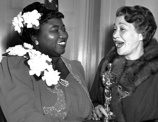 Oscar Night 1940 - Hattie McDaniel (see highlighted story below)