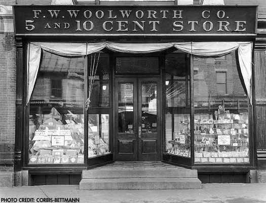 1879 - The 1st Woolworth's ... see highlighted story below