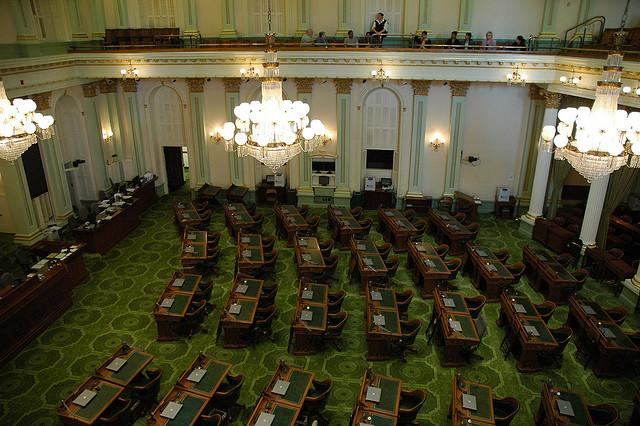 Chambers of the California Legislature