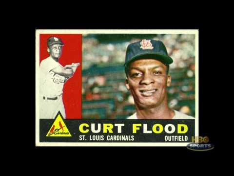 1972 - Curt Flood (highlighted story below)