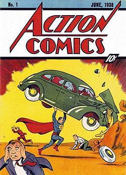 Action Comics #1 - 1938 (highlighted story below)