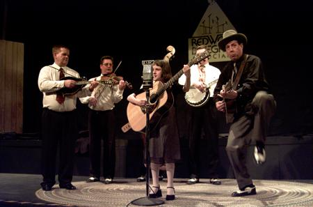 The Karl Shiflett & Big Country Show (with guest Frankie Nagle) at a 2004 show for RBA. Photo: Tom Tworek