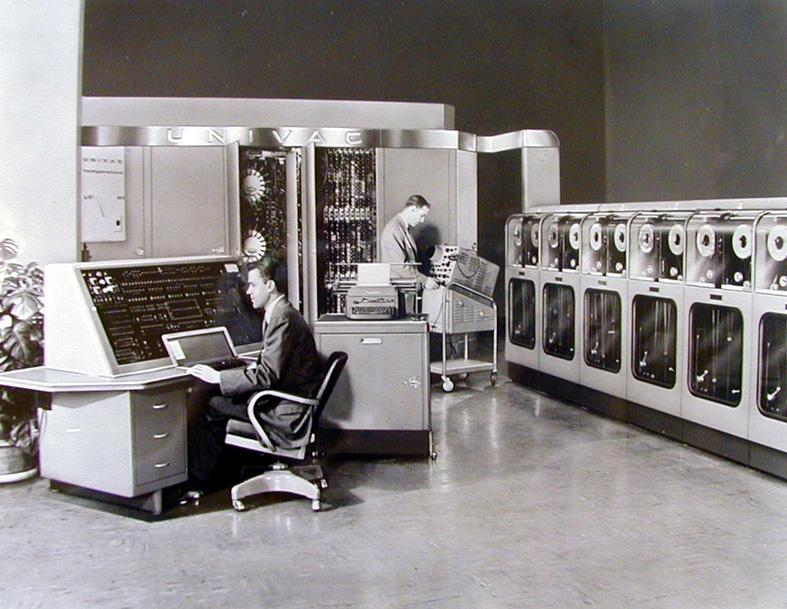 1951 - UNIVAC 1 (highlighted story below)
