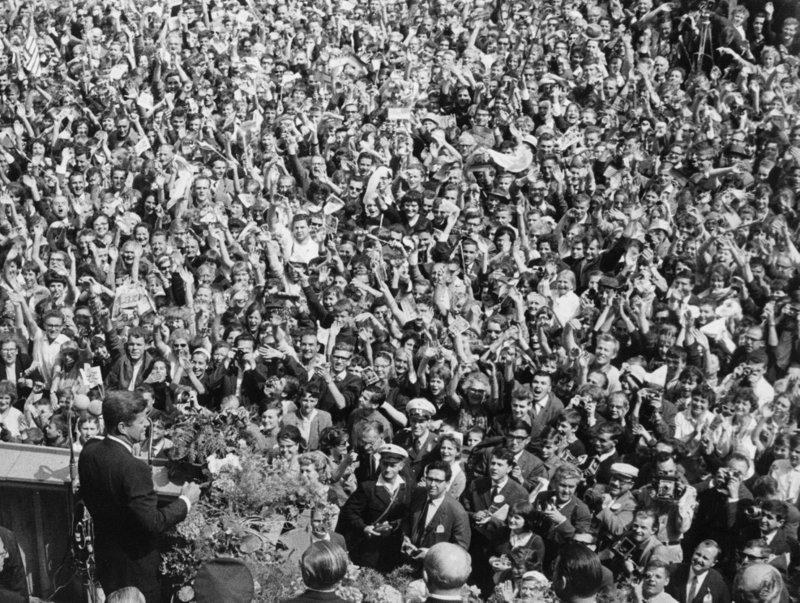1963 - JFK in Berlin (highlighted story below)
