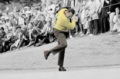"Billy Casper during his US Open win at San Francisco's Olympic Club - from his book ""The Big Three and Me"""