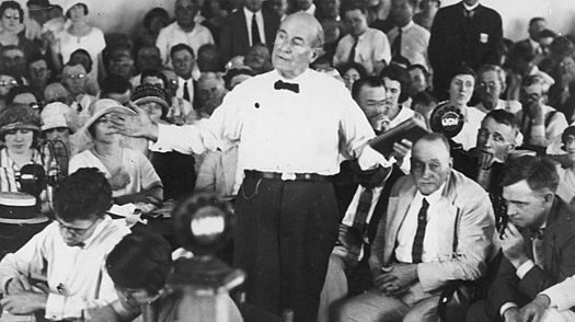1925 - Scopes Trial (highlighted story below)