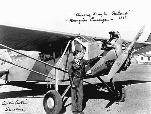 "1938 - Douglas ""Wrong Way"" Corrigan (highlighted story below)"